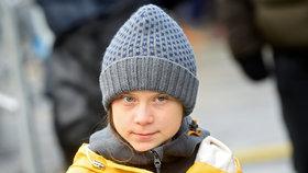 Švédská aktivistka Greta Thunbergová (16)