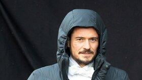 Orlando Bloom natáčel v Praze a může v tom brzy pokračovat.