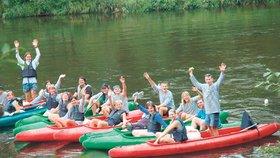 Víte, jak se na řece zdraví vodáci? No přece AHOJ!!!