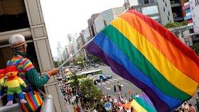 Duhová vlajka komunity LGBT