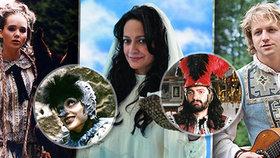 Zpěváci v pohádkách: Víla Vondráčková, pavoučice Bílá, kníže Brambas Hůlka i princ Klus!
