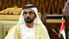 Dubajský šejch Muhammad bin Rašíd Al Maktúm.