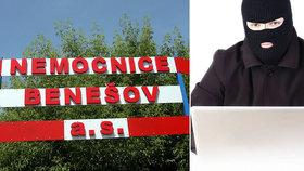 Hackeři zaútočili na OKD i na nemocnici v Benešově.