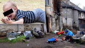 Rodiče s dětmi žili v příšerných podmínkách. Malého Martínka podle policie týrali (ilustrační foto)