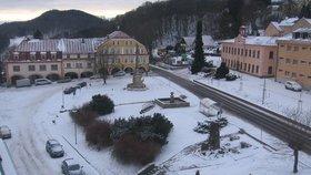 Zima v Krkonoších: Žacléř