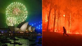 Sydney zvažuje, že kvůli požárům zruší ohňostroj (29. 12. 2019).