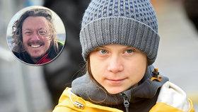 Aktivistka Greta (16) řídila program BBC. Svět dojala slova jejího otce: Nechci zachránit svět, ale dceru.