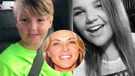 Děti (7 a 17) zmizely několik týdnů poté, co se jejich máma přidala do nebezpečné sekty! Policie v souvislosti s jejich zmizením vyšetřuje několik vražd