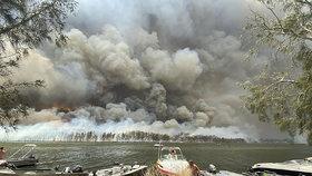 Ničivé požáry v Austrálii, (3.01.2020).