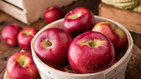 Jablko původně pochází z centrální Asie. Dnes existuje po celém světě 7500 různých odrůd jablek.