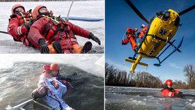 Teploty jsou pod bodem mrazu krátce, přesto lidé riskují a vstupují na vodní plochy (ilustrační foto).
