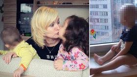 Marcela má momentálně v pěstounské péči dvě holčičky - dvojčátka. Jedna z nich měla zhoubný nádor.