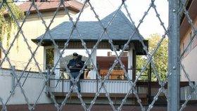 Vazební věznice v Teplicích, kde si David Rath odpykával trest.