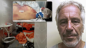 Šokující snímky smrti miliardáře Epsteina.