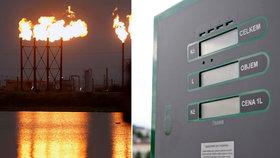 Napětí v Íránu cenu benzinu v ČR zvýší, shodují se experti. Prudké zdražení odmítají.