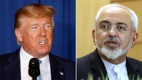 Trumpovi poradci pro Blízký východ jsou podle Zarífa klauni.