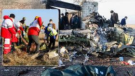 Děsivé výjevy z místa letecké katastrofy.