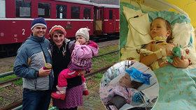 Magdalenku (4) srazilo v lese auto: Život jí zachránila učitelka, dívenka je ale v kómatu