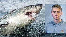Eric Brighitti (†21) byl zabit žraloky. Když našli jeho mrtvolu, paryby na ní ještě hodovaly.