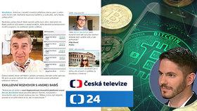 Dezinformátoři ukradli design České televizi.