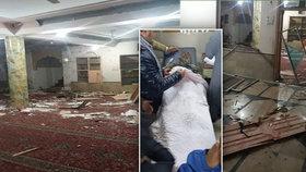 V mešitě v Pákistánu vybouchla bomba, 9 mrtvých a 11 zraněných (11.1.2020)