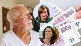 Ministryně práce a sociálních věcí Jana Maláčová má plán, jak by mohla vypadat reforma důchodů. Podle ministryně financí ale nejsou vyřešené zdroje, ze kterých takové penze zaplatit.