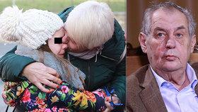 Miloš Zeman se vyjádřil k případu malé Alexie, kterou soud poslal do krizového centra.
