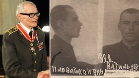 Zemřel válečný hrdina Plovajko (†97)