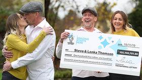 Lenka se Stevem vyhrála miliardy! Steve dál maká, a dokonce zadarmo!