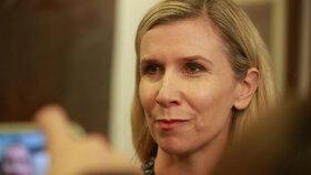 Poslankyně a exministryně školství Kateřina Valachová (ČSSD)