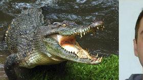 Milanovi se podařilo přežít tři týdny v australské divočině mezi krokodýly.