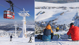 Zahraniční lyžování lyžování hned za hranicemi