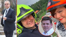 Kalousek (TOP 09), Hamáček (ČSSD), Skopeček (ODS) a Schillerová (za ANO) promluvili o tom, jak vidí možnsot zkracování pracovního týdne