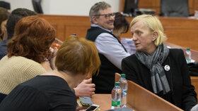 Zlatica Kušnírová u soudu 15. ledna 2020