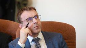 Ministr dopravy Vladimír Kremlík (za ANO)