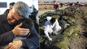 Írán se snaží umlčet rodiny obětí letecké havárie. Zakazuje jim mluvit s tiskem a zadržuje ostatky jejich blízkých.