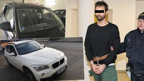Střelec z BMW je pražský podnikatel: Michal V. prý není policii zcela neznámý