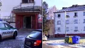 V jednom bytovém domě ležely dvě mrtvoly. Zemřely pár hodin od sebe.