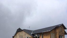 Fotografie domova pro postižené, kterou zveřejnili po zásahu ústečtí hasiči.