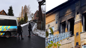 Do Vejprt přijede německý velvyslanec: Bude řešit, proč zahraniční hasiči nepomáhali při požáru.