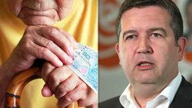 Podle vicepremiéra Jana Hamáčka (ČSSD) budou moci lidé s náročným povoláním odcházet do penze dříve.