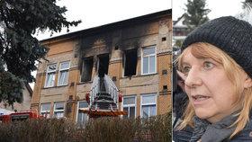 Zemřelí klienti domova pro hendikepované byli jako rodina, prohlásila starostka Vejprt Jitka Gavdunová.