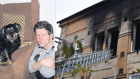 Při požáru Domova pro osoby se zdravotním postižením zemřelo osm lidí. Milan naštěstí přežil.