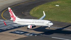 Letadla australských aerolinek Virgin Australia.