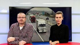 Ředitel portálu Hlídač státu Michal Bláha byl hostem pořadu Epicentrum dne 20. 1. 2020. Vpravo moderátorka Markéta Volfová.