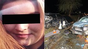 Adriana při nehodě utrpěla velmi vážná zranění.