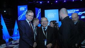 Šéf Senátu Jaroslav Kubera na kongresu ODS v sobotu 18. ledna 2020 (s předsedou ODS Petrem Fialou). V Pondělí 20. ledna náhle zemřel.