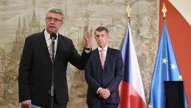Karel Havlíček s premiérem Andrejem Babišem