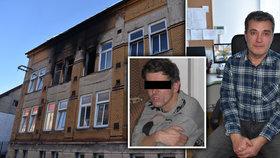 Místostarosta Vejprt zachránil z plamenů Milana, ale nepamatuje si to.