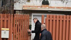 Jednání s rodinou zesnulého předsedy Senátu se zúčastnil také teplický primátor Hynek Hanza